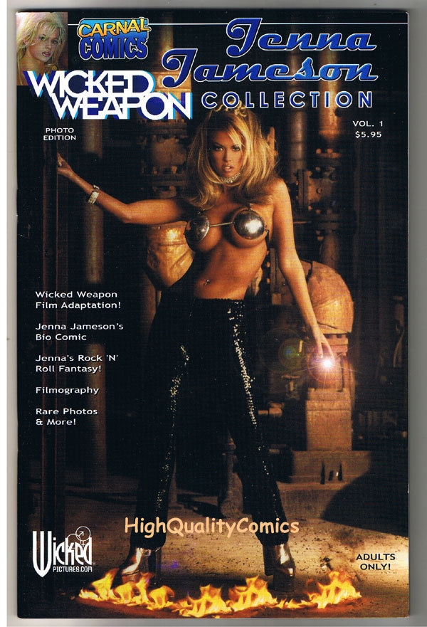 Carnal Comics : JENNA JAMESON Collection , NM, Porn, Photo, 2004, more in store