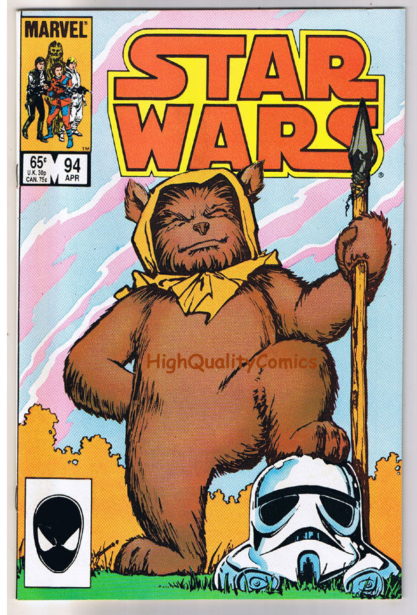 STAR WARS #94, NM-, Luke Skywalker, Darth Vader, 1977 1985, more SW in store