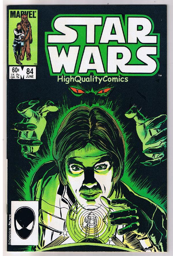 STAR WARS #84, VF+, Luke Skywalker, Darth Vader, 1977, more SW in store