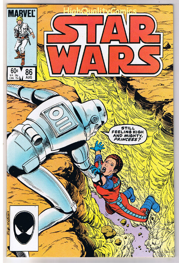 STAR WARS #86, VF/NM, Luke Skywalker, Darth Vader, 1977, more SW in store