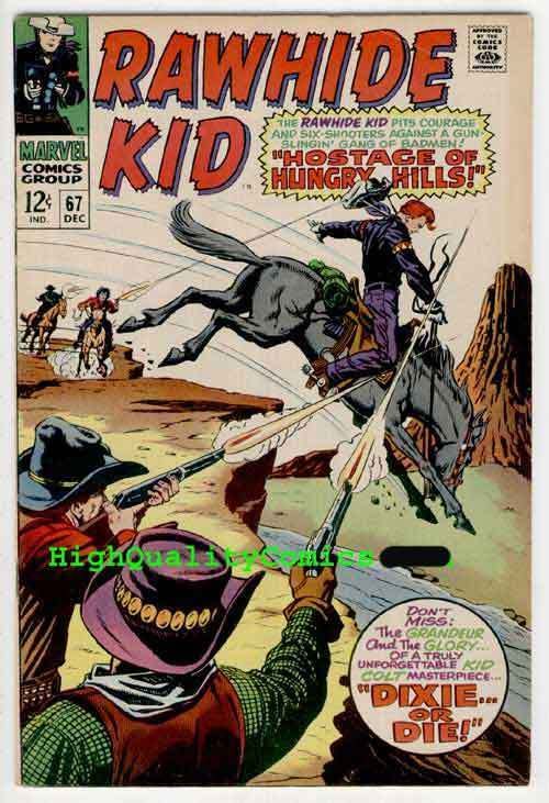 RAWHIDE KID #67, VF, Hostage, Lieber,, Guns, Dixie, more Westerns in store
