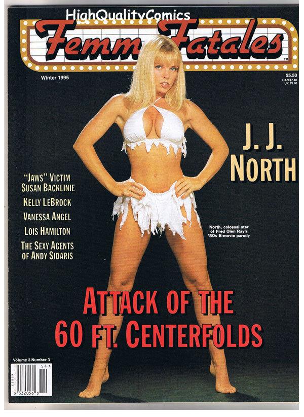FEMME FATALES,  VF+, Winter 1995, J J North, Roger Corman, more in store