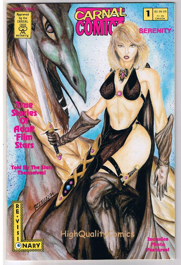 Carnal Comics : SERENITY #1, Porn Star, 1995, VFN