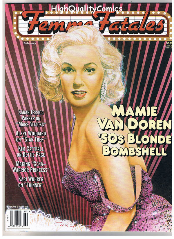 FEMME FATALES, NM, Febuary 1997, Sarah Jessica Parker, Xena, more in store