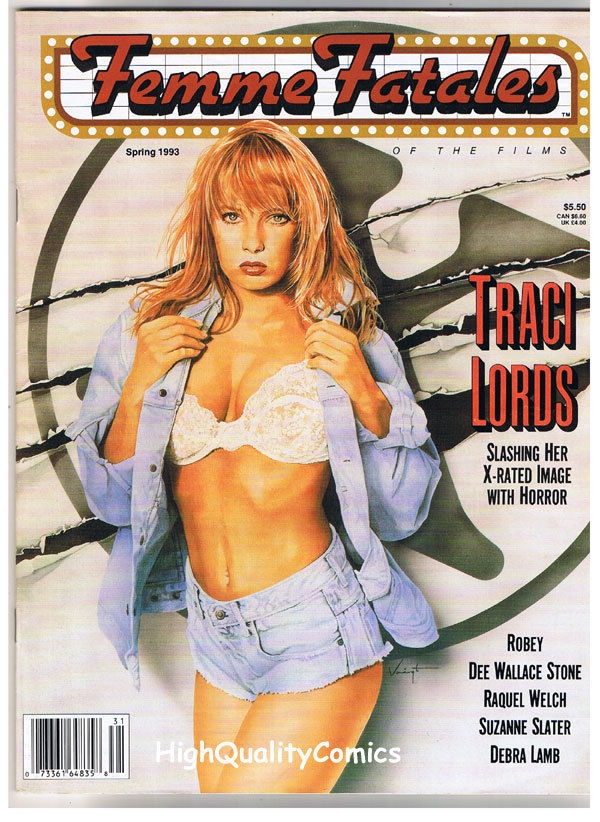 FEMME FATALES, FN+, Spring 1993, Traci Lords, Raquel Welch, more in store