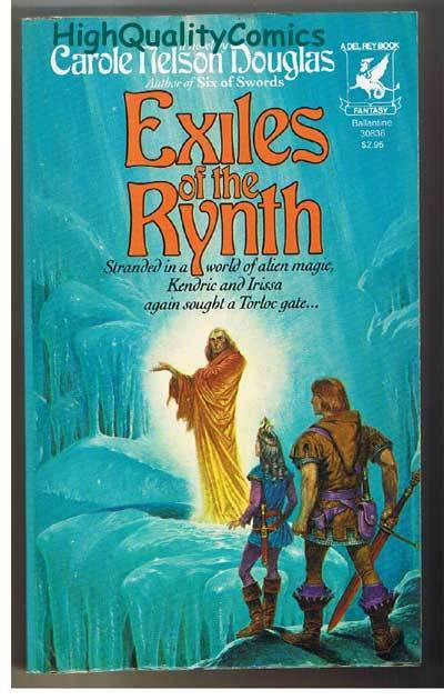 EXILES OF THE RYNTH pb, VG+, Carole Douglas, 1984, Unread, more pb in store