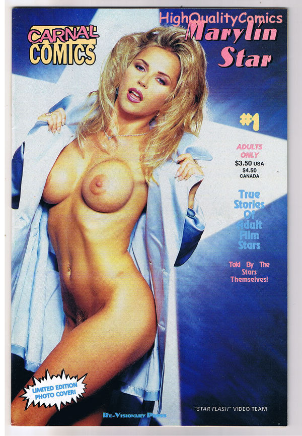Carnal Comics : MARYLIN STAR #1, Adult, Porn Star, 1997, VFN/NM