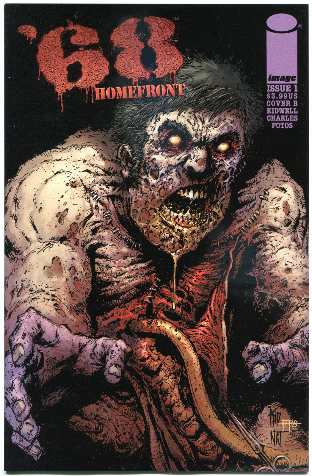 '68 HOMEFRONT #1 B, NM,1st Print, Zombie, Walking Dead,2014,more Horror in store