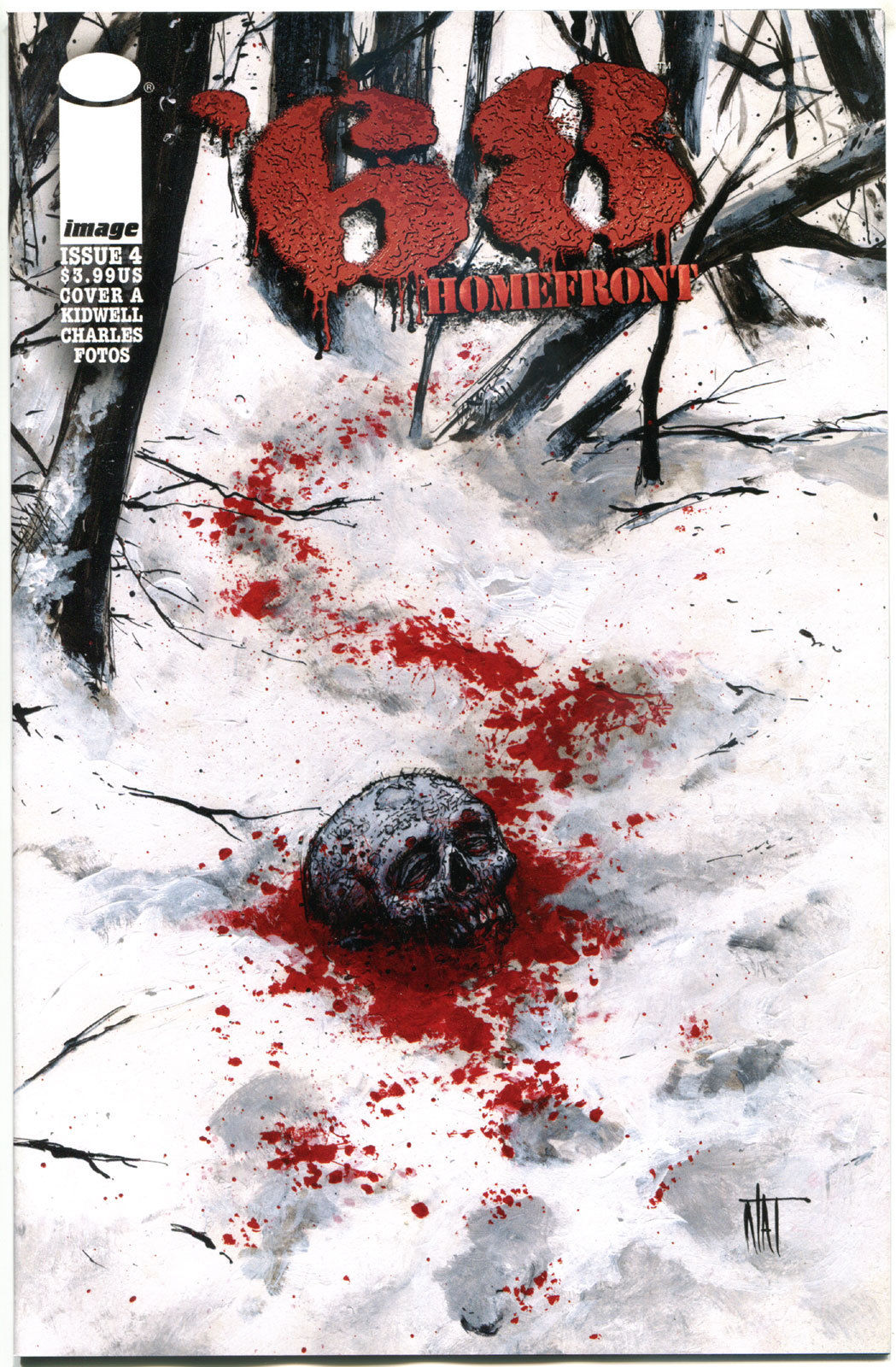 '68 HOMEFRONT #4 A, NM,1st Print, Zombie, Walking Dead,2014,more Horror in store