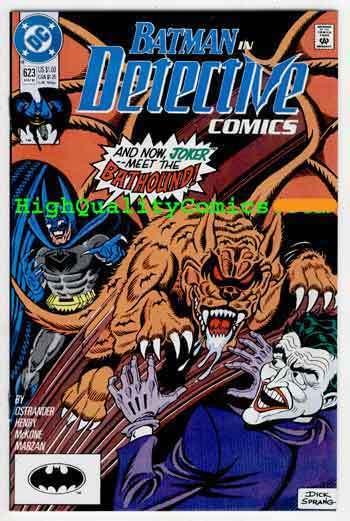 DETECTIVE #623, Batman, NM, 1990, Joker, Bathound, D Sprang, more BM in store
