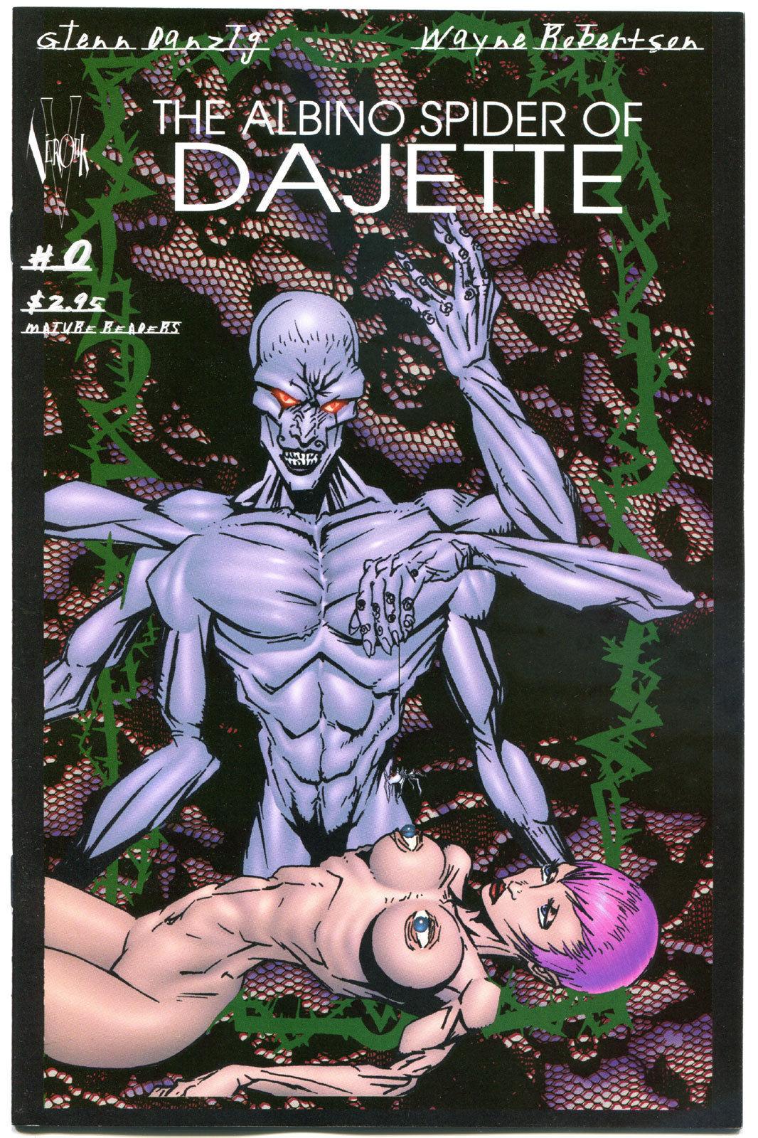 ALBINO SPIDER of DAJETTE #0, NM-, Danzig, Verotik, 1998, more indies in store
