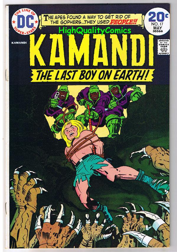 KAMANDI #17, VF/NM, Jack Kirby, Last Boy on Earth, 1972, more in store