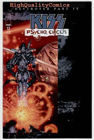 KISS PSYCHO CIRCUS #13, NM+, Rock 'n Roll, Gene Simmons, 1997, more in store