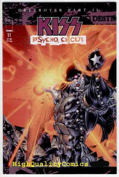 KISS PSYCHO CIRCUS #11, NM+, Rock 'n Roll, Gene Simmons, more in store