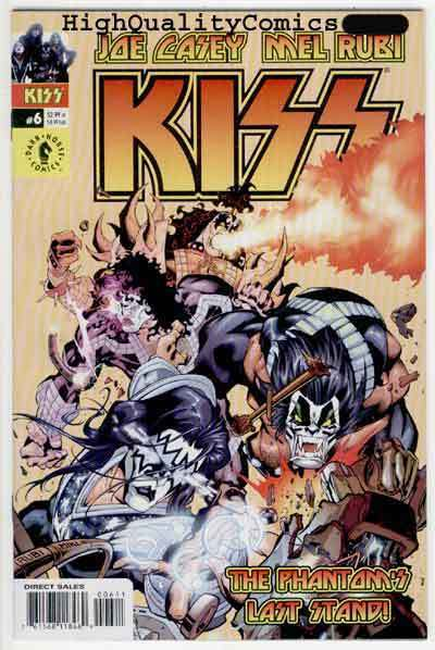 KISS #6, NM, Rock 'n Roll, Gene Simmons, Art cv, Stanley, 2003, more in store