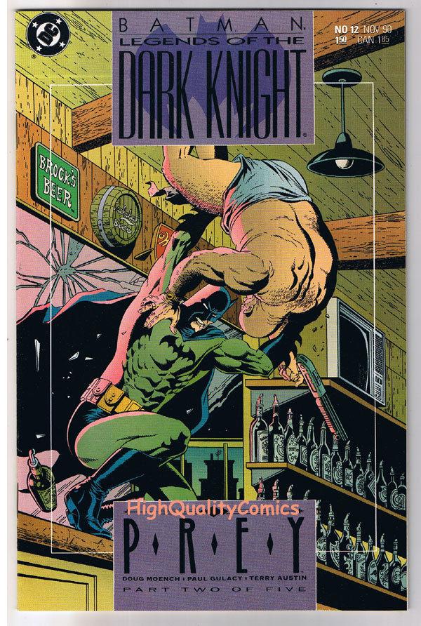 BATMAN: LEGENDS OF THE DARK KNIGHT #12, Prey, 1989, NM+, more LotDK in store