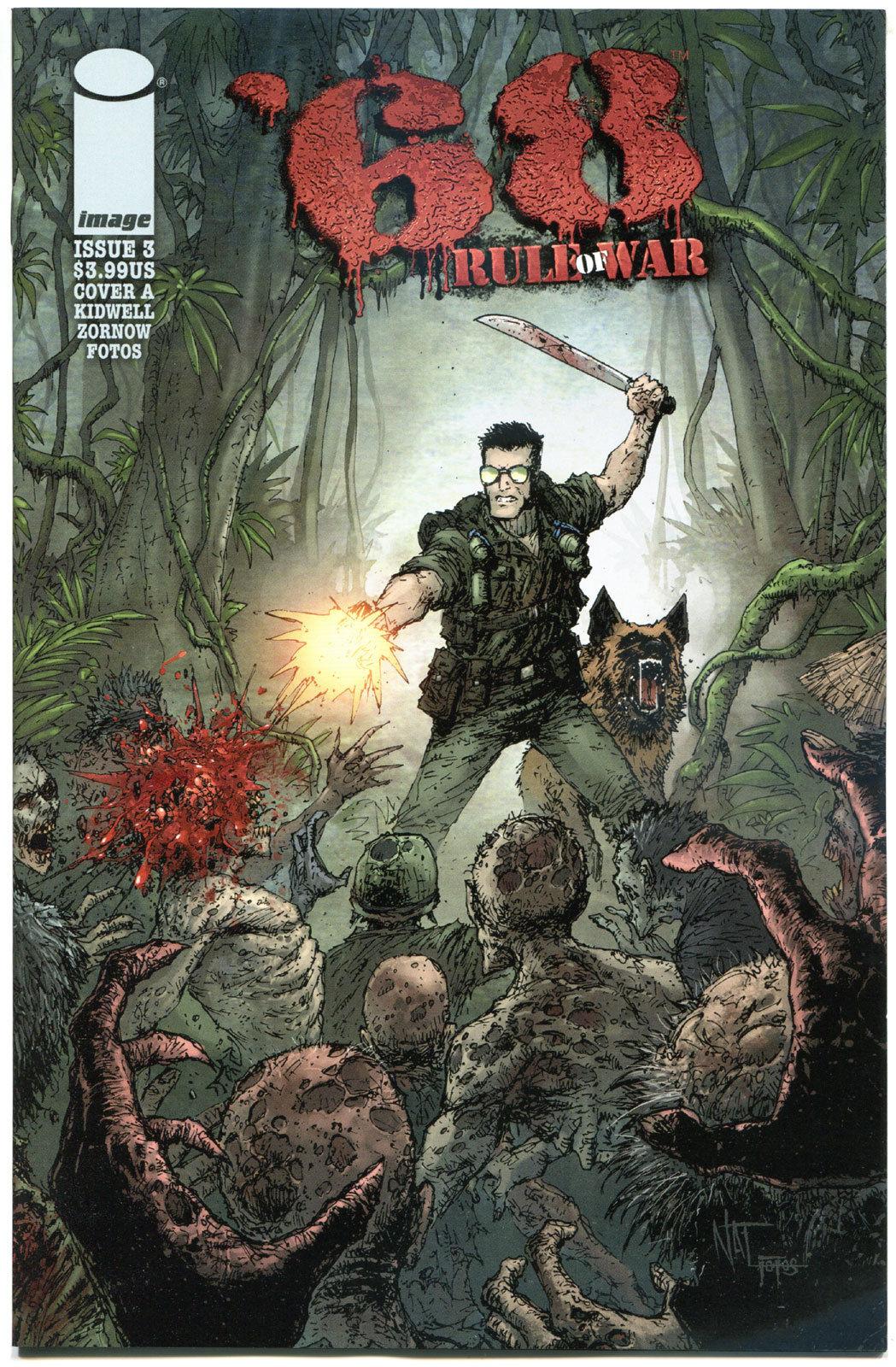 '68 RULE of WAR #3 A, NM,1st Print, Zombie, Walking Dead, 2014, more in store