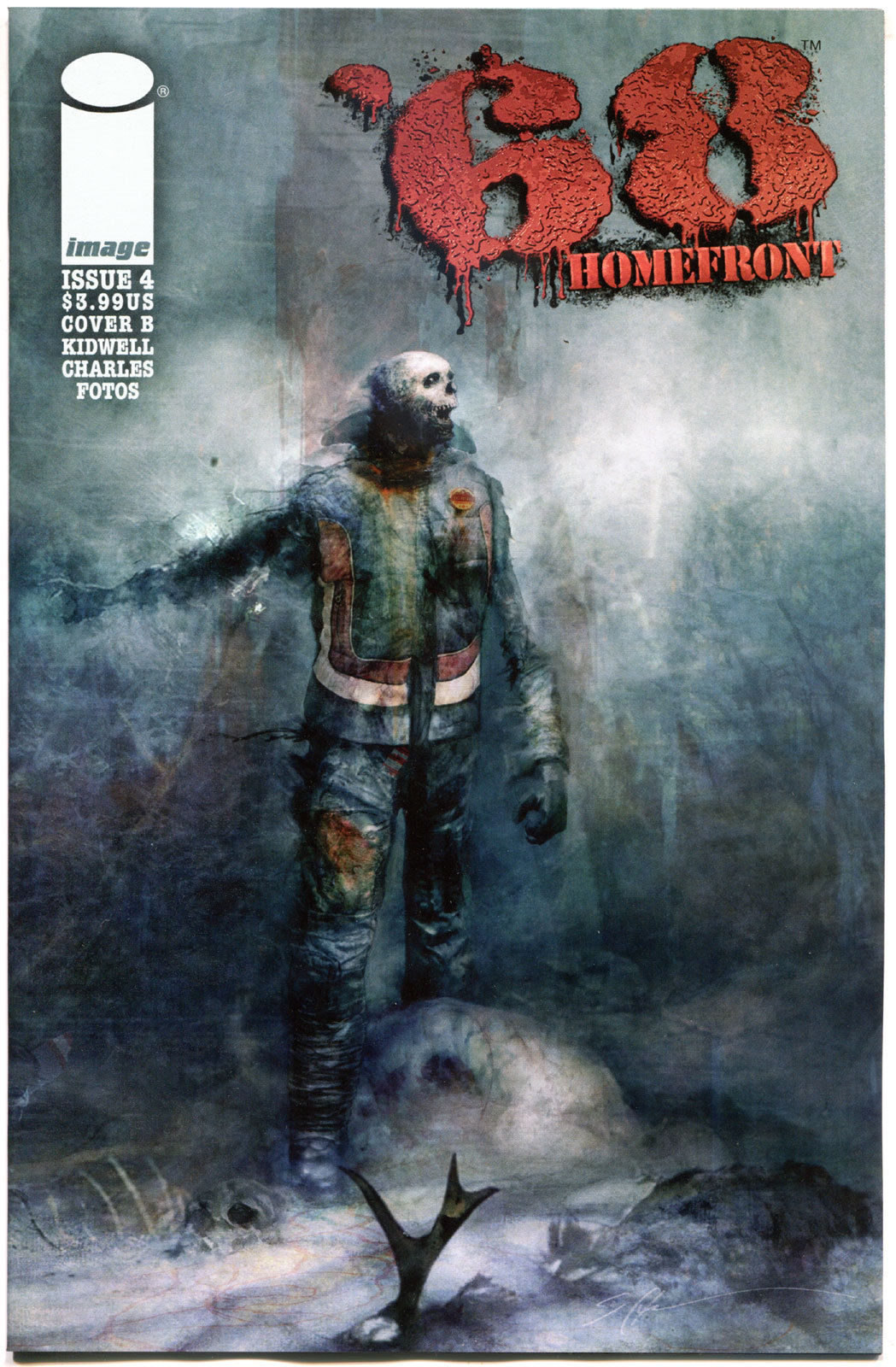 '68 HOMEFRONT #4 B, NM,1st Print, Zombie, Walking Dead, 2014, more in store