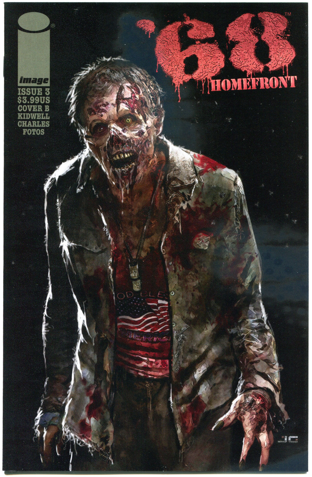 '68 HOMEFRONT #3 B, NM,1st Print, Zombie, Walking Dead, 2014, more in store