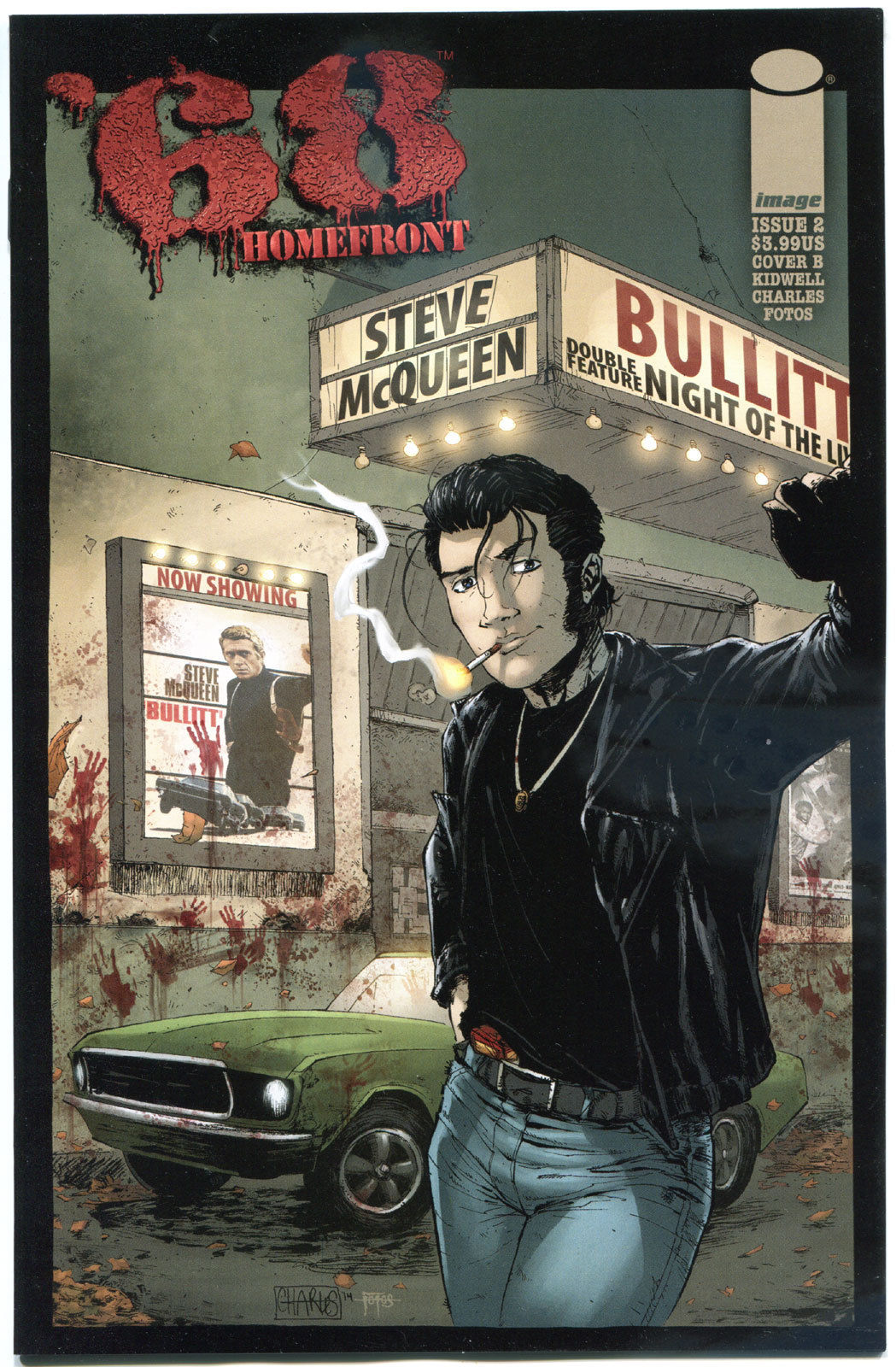 '68 HOMEFRONT #2 B, NM,1st Print, Zombie, Walking Dead, 2014, more in store