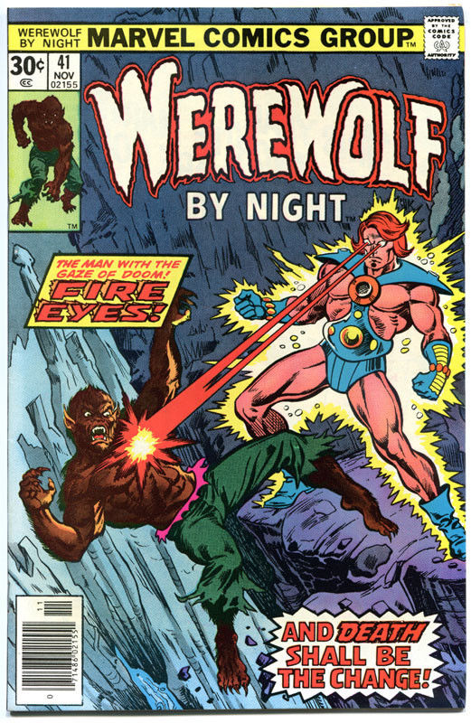 WEREWOLF by NIGHT #41, VF+, Don Perlin, Brother Voodoo, 1972, more WW in store