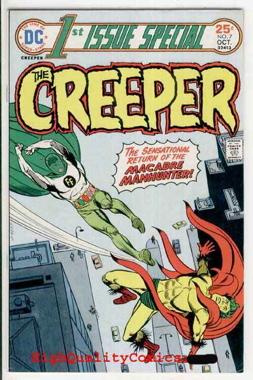 1st ISSUE SPECIAL #7,  VF, Steve Ditko, First, Creeper, Human Firefly
