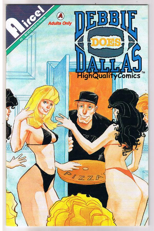 DEBBIE DOES DALLAS #5,Mile High Club, Adult, 1991, NM-