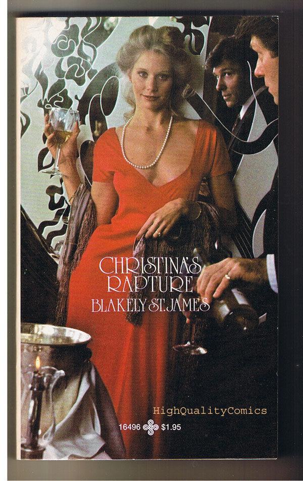 CHRISTINA'S RAPTURE, FN-, Blakely St James,1 978,Unread, 1st