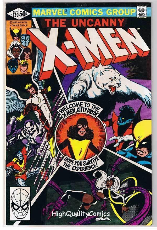 X-MEN #139, NM-, Uncanny, Alpha Flight, Wolverine, 1963, more in store