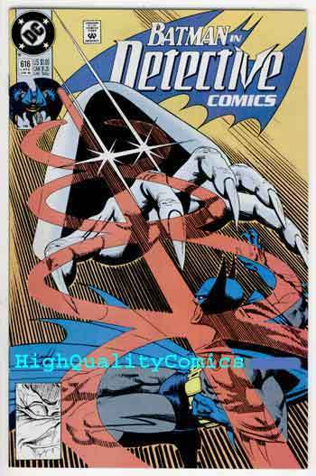 DETECTIVE #616,  NM+, Batman, Alan Grant, 1990, Gotham City, more DC in store