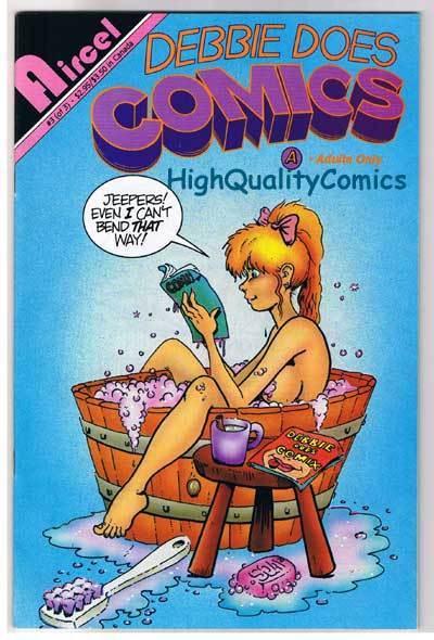 DEBBIE DOES COMICS #3, Dennis Clark, Adult, 1992,VFN/NM
