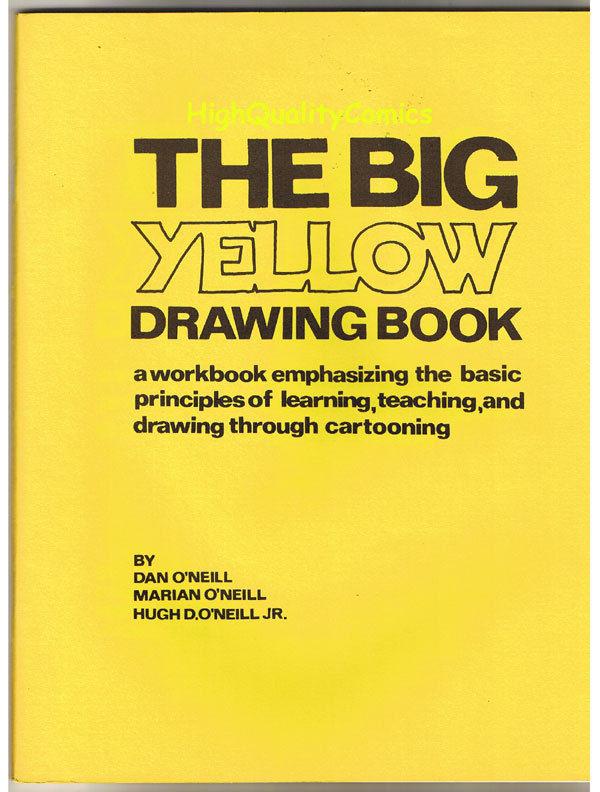BIG YELLOW DRAWING BOOK, magazine, O'Neill, 1974, VF