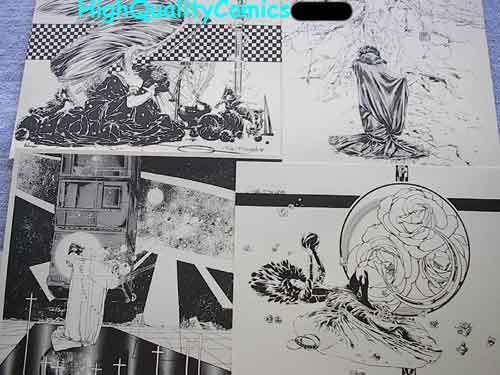 WINDDREAMS Portfolio, Rick Bryant, 1981, NM, 5 prints