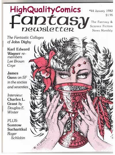 FANTASY NEWSLETTER,Vol 5 #1 (#44), VF+, Jan 1982, Rare