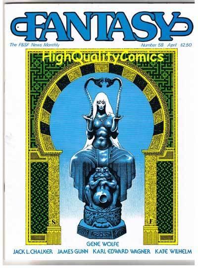 FANTASY NEWSLETTER,Vol 6 #4 (#58) VF, April 1983, Rare