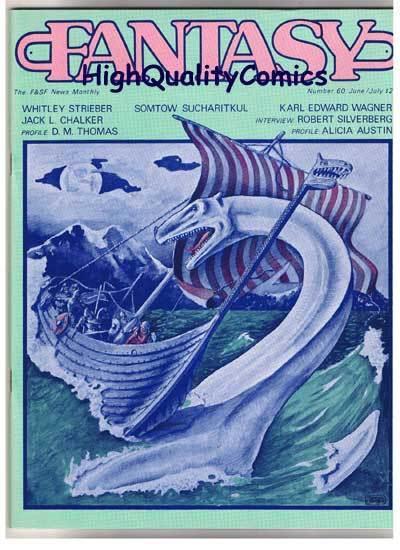 FANTASY NEWSLETTER,Vol 6 #6 (#60)  VF+, June 1983, Rare
