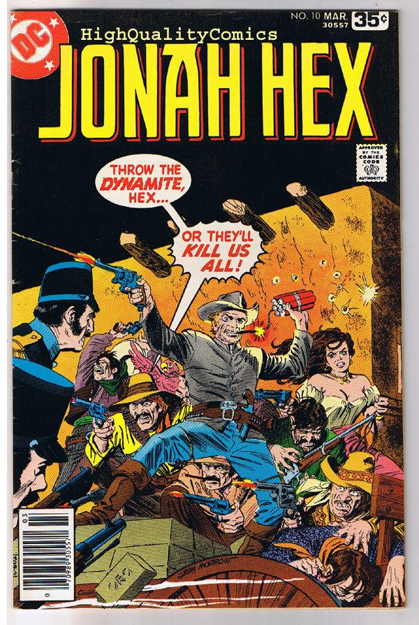 JONAH HEX #10, VF, Gray Morrow, Violence at Veracruz, 1977, more JH in store