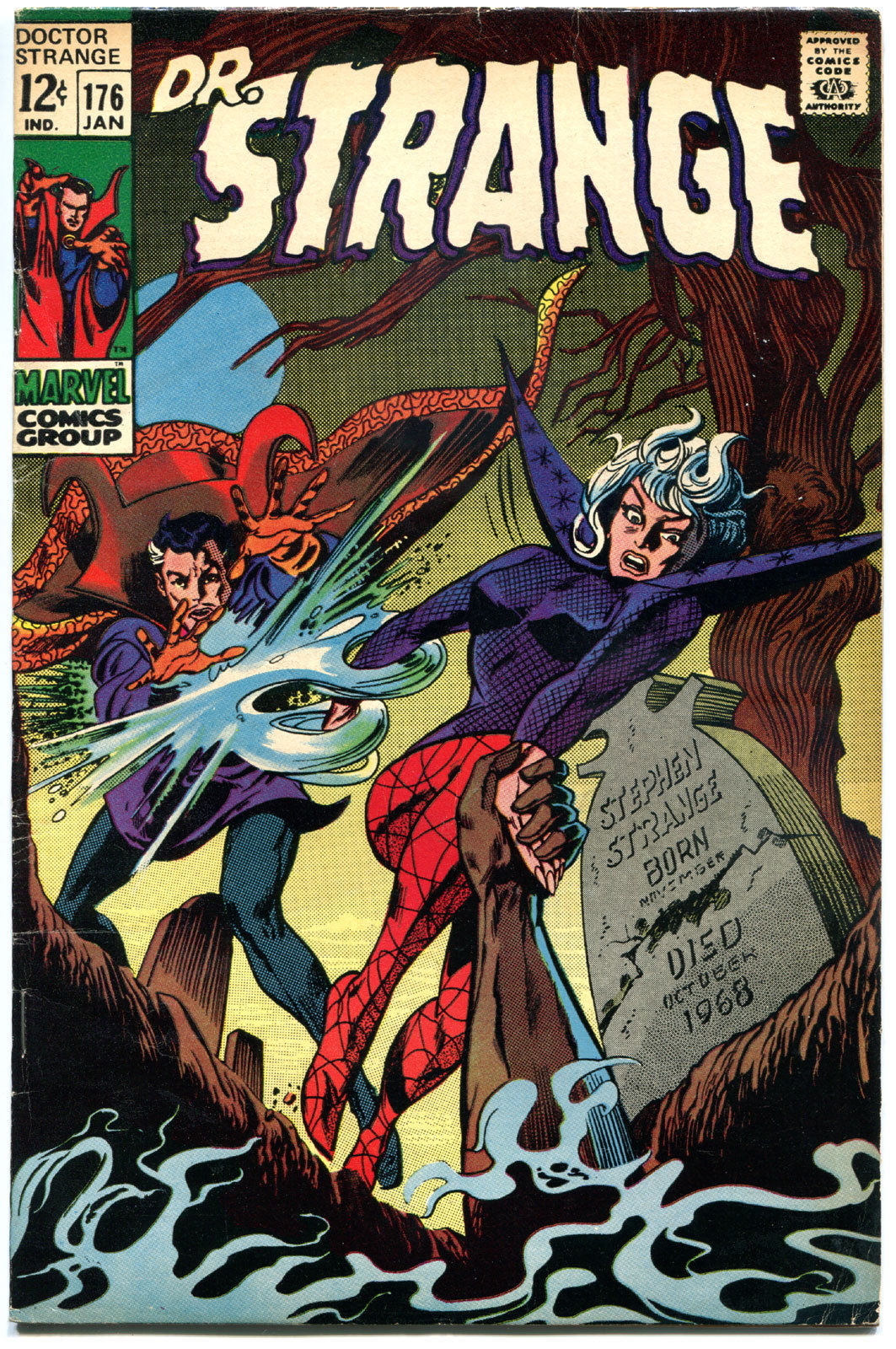 DOCTOR STRANGE #176, FN+, Mystic Arts, Gene Colan, 1968, more DS in store, QXT