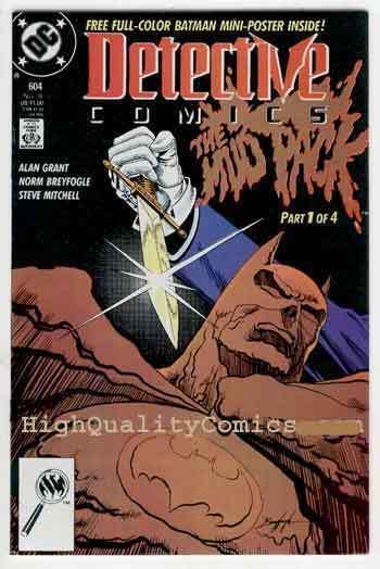 DETECTIVE #604, NM+, Batman, Alan Grant, 1989, Gotham City, more BM in store