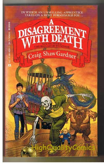 A DISAGREEMENT WITH DEATH pb, FN, Craig Gardner, Unread, more pb's in store
