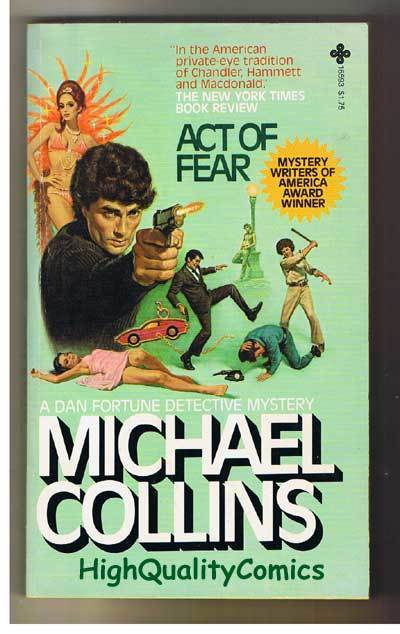 ACT OF FEAR pb, VG+, Michael Collins, 1980, 1st,, more pb's in store