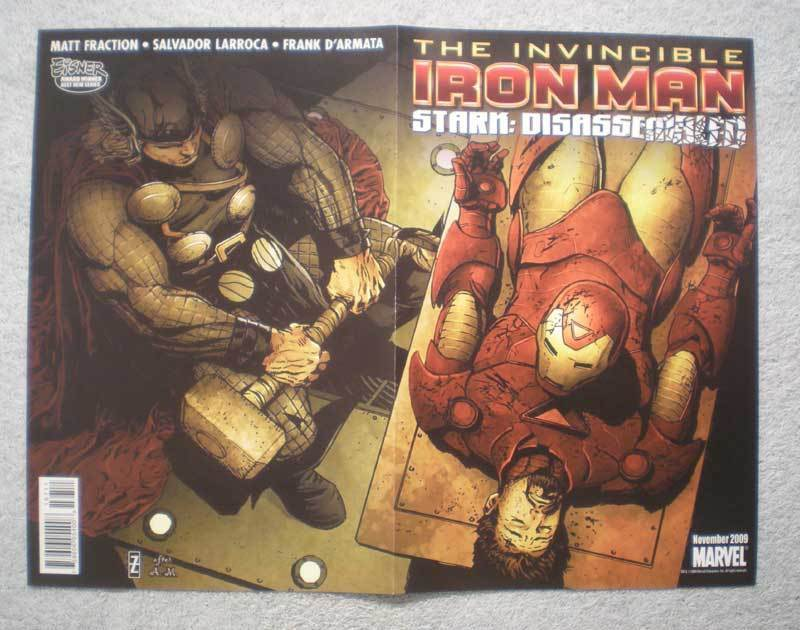 IRON MAN THOR X-MEN Promo Poster, 10