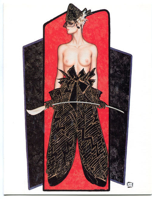 BETWEEN the LINES Dressing greeting card, VF, Olivia De Berardinis,more in store