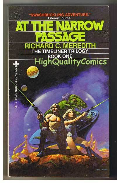 AT THE NARROW PASS pb, FN-, Richard Meredith, 1979,Unread,1st,more pb's in store
