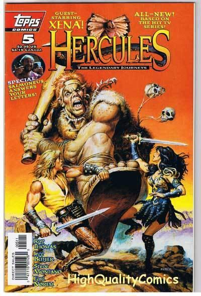 HERCULES  LEGENDARY JOURNEYS #5, NM+, TV, Xena, 1996
