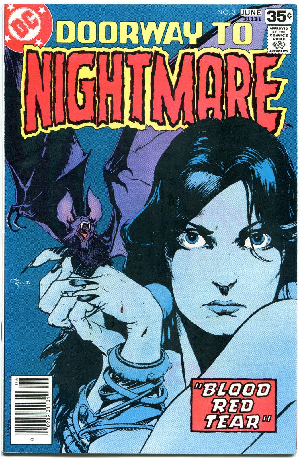 DOORWAY TO NIGHTMARE #3, VF, Michael Kaluta,Tarot, Occult, 1978, more in store