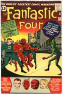 FANTASTIC FOUR #11, VF, 1st Impossilbe Man, Jack Kirby, 1961,more in store, QXT