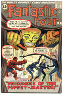 FANTASTIC FOUR #8, VF-, 1st Pupper Master, Jack Kirby, 1961 1962, more in store, QXT