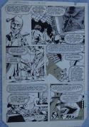 DON PERLIN / KIM DeMULDER original art, DEFENDERS #125, Return of the Jedi, 1983