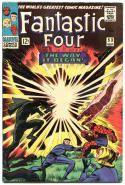 FANTASTIC FOUR #53, VF, Origin Black Panther, Jack Kirby, 1961, more in store